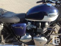 Make Triumph Model Bonneville Year 2012 kms 18500 Great