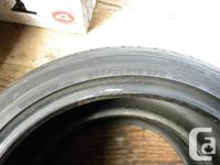 Excellent quality WIDE tires with little wear. Clearing