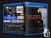Taken 2 starring Liam Neeson. Bluray/DVD/Digital