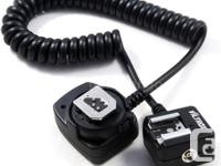 OC-E3 E-TTL Off Camera Shoe Cord for Canon DSLR Camera