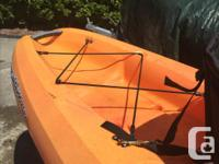 Sit on top style kayak in excellent shape, only used a