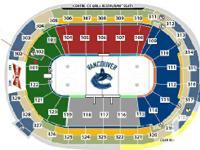 $140- New Jersey Devils vs Canucks- Oct 8 - $140 2 side