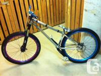 Amazing problem Octane One Void jump/pump track bike.