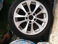 """BMW Double Spoke Style 98 Wheels / Rims - 17"""" Minty"""
