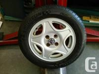 """1997 VW Jetta GT factory 14"""" aluminum wheels with great"""