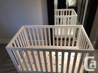 Save $500 + Baby Crib made by Oeuf Canada. Partially