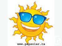 http://www.papsolar.ca/  TOLL FREE 1  190W SYSTEM $599