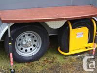 "2012 12' x 6'6"" Mirage trailer, 7000# GVW. It was used"