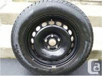 Offering four excellent P215/60R16 Pirelli Icecontrol