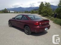 DEAL - NECESSITY GO !! - 2003 Chevy Cavalier Coupe