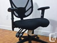 office chair, mesh back. in great condition. originally