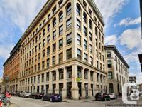 OFFICE FOR LEASE OLD MONTREAL VILLE-MARIE - Terrific