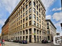 Office for rent Old-Montreal Ville-Marie -- Great