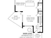 Sq Ft 1200 This bright and modern townhouse features