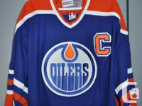 Brand new. Never worn. Size Large, Gretzky jersey. Just