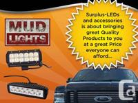 THE BEST PRICES  LED Light bars and spot lights