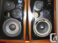 Classic OHM L Speakers - wonderful condition still