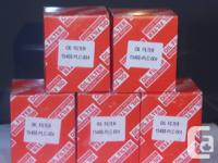 BRAND NEW IN BOXES, Genuine replacement Oil filters: