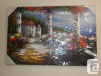 Beautiful oil paintings bought on amazon still unpacked