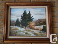 Various paintings from estate. Some oils, and