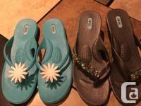 Oka-B Women�s Sandals LOT For Sale. Like new - hardly