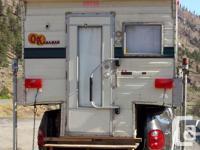 1979 Okanagan Camper Camper is in super nice condition