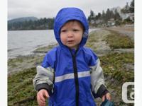 Children's Dry Tyke Completely Waterproof Rain Jacket,