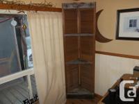 """Old wood door corner cabinet 82""""HX241/2""""W $125 Corner"""