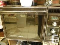 I'm looking for an early 80's microwave, something
