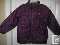 OLD NAVY JACKET Girl's Purple Frost Free Jacket - 3T