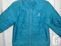 OLD NAVY JACKET Girl's Turquoise Blue Frost Free Jacket