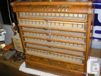 Have an old oak spool cabinet located in the lane