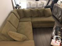 I'm selling my sectional sofa. It comes in 2 parts. The