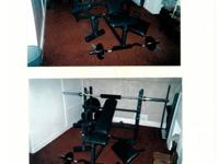 Olympic Weight Set by Bodysmith   We moved recently and
