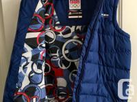 Czech Republic Winter Olympics vest. Purchased in