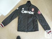 HBC olympics jacket, no smoking residence, received as