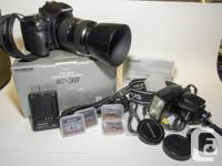 Olympus E-30 Cam c/w FL-36 flash; 40-150 lens; for sale  British Columbia