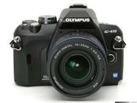 I have an Olympus E-410 Volt DSLR complete with 2