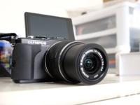 Outstanding condition mirrorless camera with all