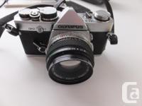 Olympus OM-2 Film Camera (1978 Vintage) Vivitar