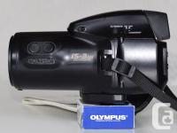 This camera is in very good condition. It has many