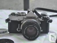 Olympus OM-1, with 50mm 1.8 standard lens, 2X