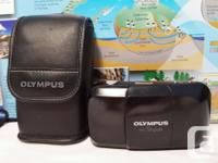 Olympus Stylus Infinity (mju I) 35mm point & shoot