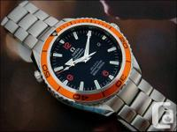 . Omega Seamaster Earth Ocean, Identical to the