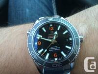 Hi there I am selling my 1 MONTH OLD Omega Seamaster