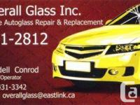 On-site windshield repair & replacement. With one call