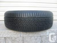 ONE (1) CONTINENTAL TRUECONTACT TIRE SIZE /195/65/15/