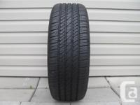 ONE (1) GOODYEAR EAGLE LS TIRE SIZE 205/ 55/ 16/ ALL
