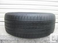 ONE (1) GOODYEAR EAGLE LS2 TIRE SIZE /225/50/18/ ALL
