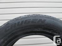 ONE (1) KUMHO CRUGEN PREMIUM TIRE SIZE /225/60/17/ ALL